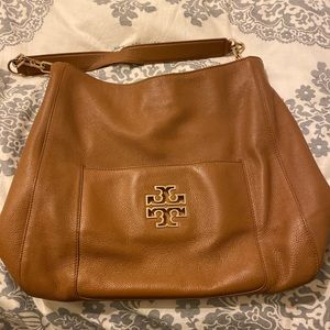 Tory Burch leather hobo bag
